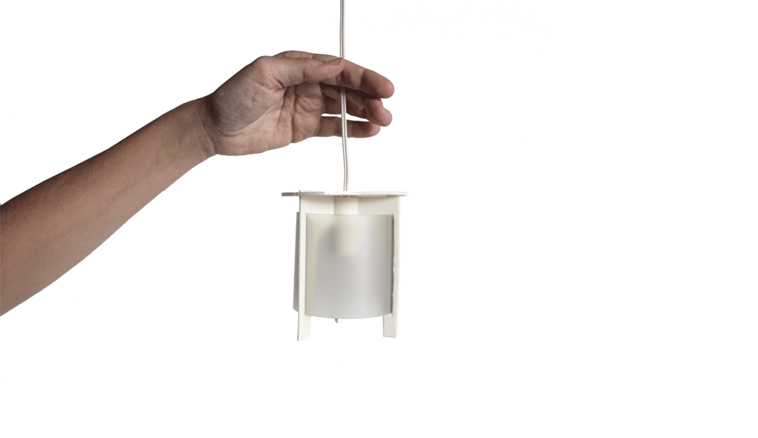 maqueta impresión 3d valladolid luminaria diseño industrial
