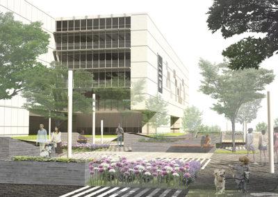 Proyecto de adecuación de plaza y aparcamiento del IIIº Milenio, Mérida