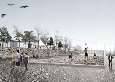 Proyecto de adecuación de la pradera de La Santa Espina, Valladolid