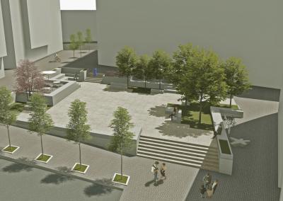 Concurso de Ideas para la Intervención Urbana en la Plaza Concepciones, Soria
