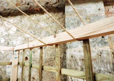 Diseño y montaje de estand desmontable para Xila Macramé