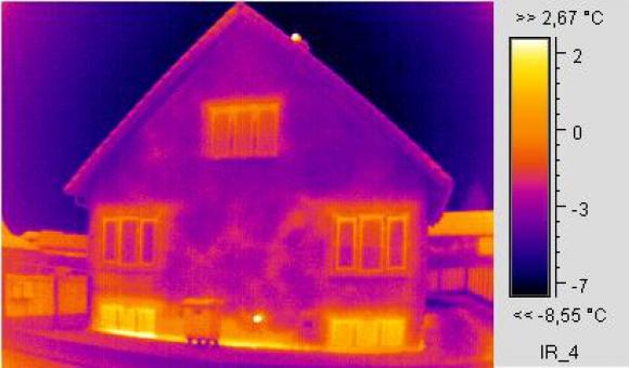 termografía vivienda edificio valladolid
